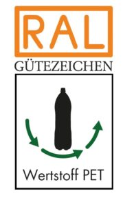Logo RAL Gütegemeinschaft PET- PET-Wertstoffkreislauf