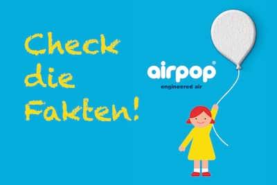 Airpop Styropor Faktencheck