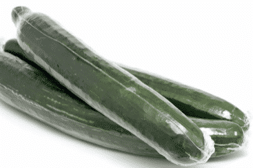 Teil der Plastikdebatter - Die Folie um die Salatgurken