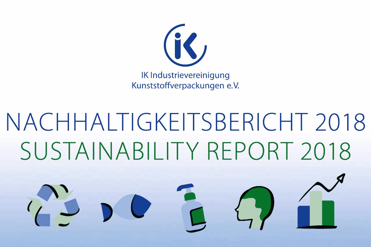 Nachhaltigkeitsbericht / Sustainability Report – Industrievereinigung Kunststoffverpackungen Recycling Nachhaltigkeit Recyclingziele