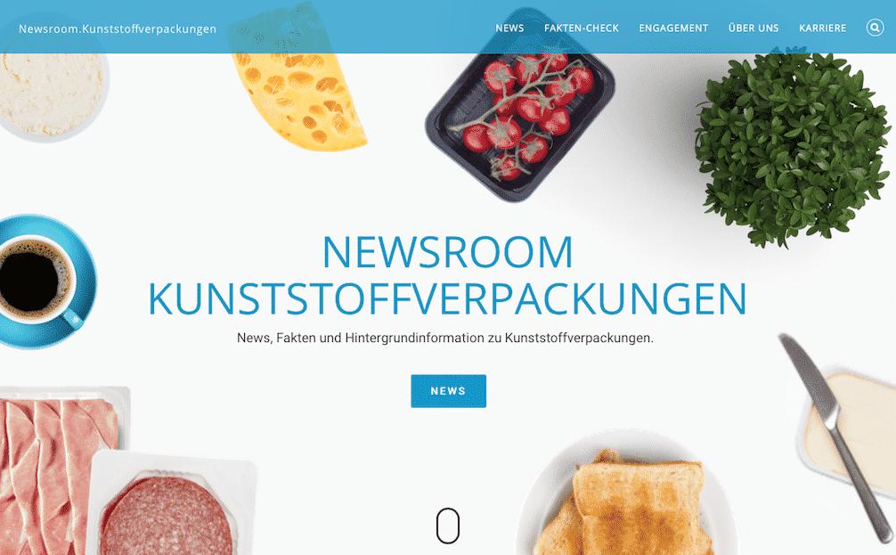 Neuer Newsroom Kunststoffverpackungen