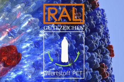 RAL-Gütezeichen Plastikflaschen PET-Flaschen