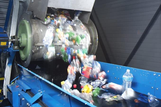 Forum PET PET Recycling Schweiz Sortierung