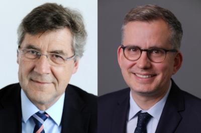 IK Hauptgeschaeftsführer Dr Juergen Bruder ELIPSO Geschaeftsfuehrer Emanuel Guichard