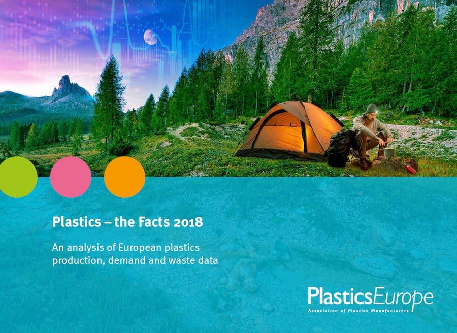 Plastics The Facts 2018 - Verwertung von Kunststoffverpackung