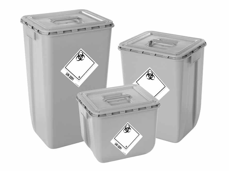 Kunststoffverpackung aus 100 Prozent Recyclingkunststoff - für sichere Handhabung