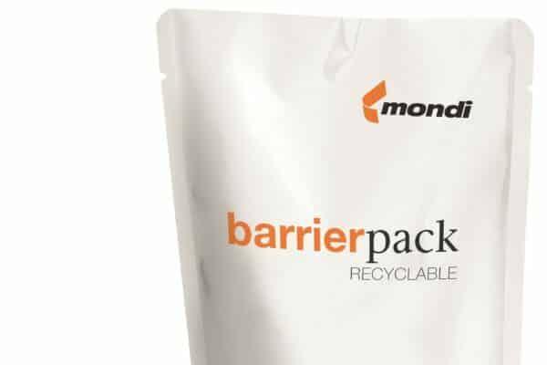 Mondi Folie BarrierPack Recycelbar Ecodesign Plastikverpackung