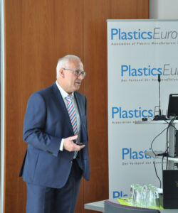 Zirkularität bei Kunststoffen, Dr. Rüdiger Baunemann Beim Fachpressetag - Kunststofferzeuger