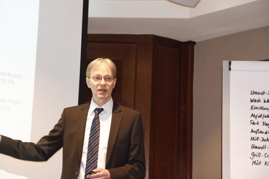 Dr Ingo Sartorius Fachkonferenz Saubere Stadt Hamburg