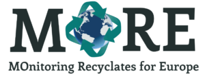 MORE Logo Monitoring Recyclates for Europe