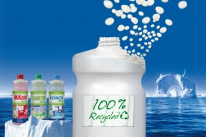 Sauer Waschmittel Flasche Recyclat