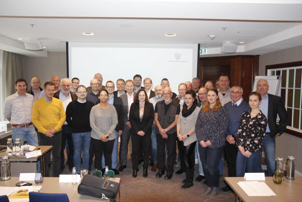 TeilnehmerInnen der Fachkonferenz Saubere Stadt in Hamburg