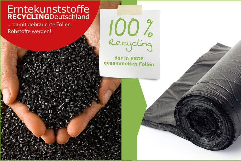 ERDE Regranulat Foliensack Recycling