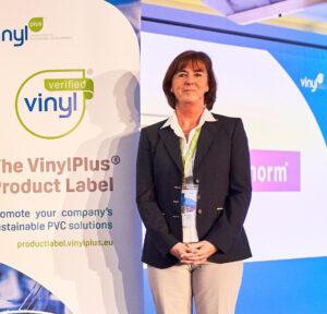 VinylPlus Forum Geschäftsführerin Dero In Prag PVC-Recycling