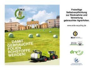 ERDE Freiwillige Selbstverpflichtung Agrasfolien