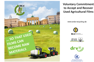 ERDE Voluntary Commitment Recycling Farming Films