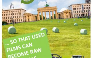ERDE Voluntary Commitment Recycling Farming Films Initiative Erntekunststoffe Recycling Deutschland (ERDE)
