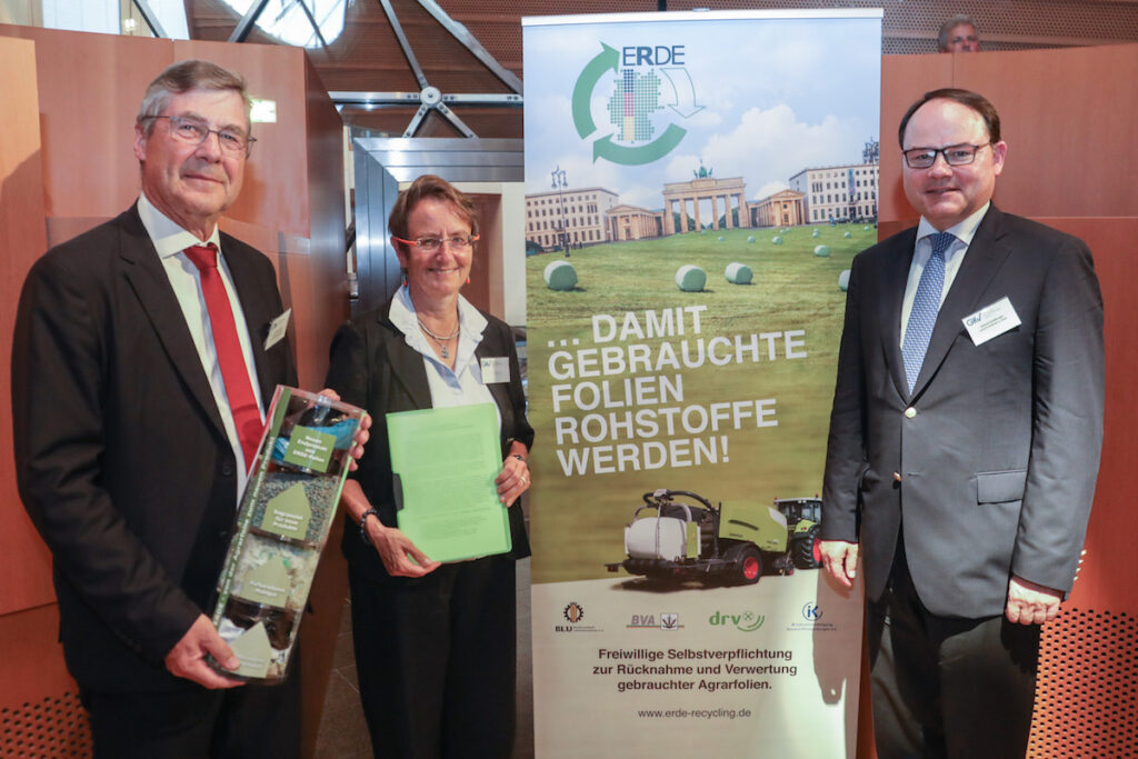 Initiative Erde Freiwillige Selbstverpflichtung Agrarfolien Recycling 260619 GKV Event 63