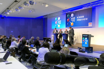 Beitragsbild Pressekonferenz Vorschau K 2019 - Kreislaufwirtschaft und Nachhaltigkeit