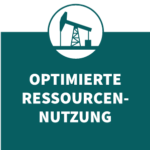 Eco Design Icon Optimierte Ressourcennutzung