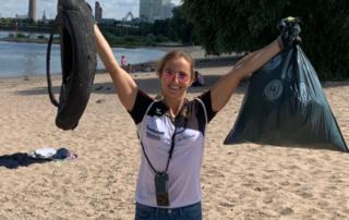 CleanUp Event Düsseldorf gegen Marine Litter