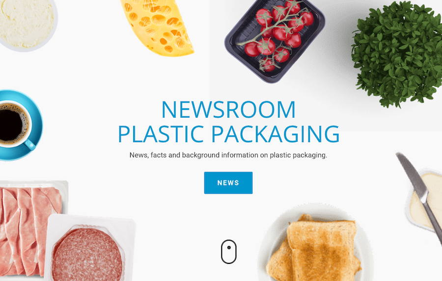 News, surveys and media reports about plastic packaging, eco design, recycling and circular economy