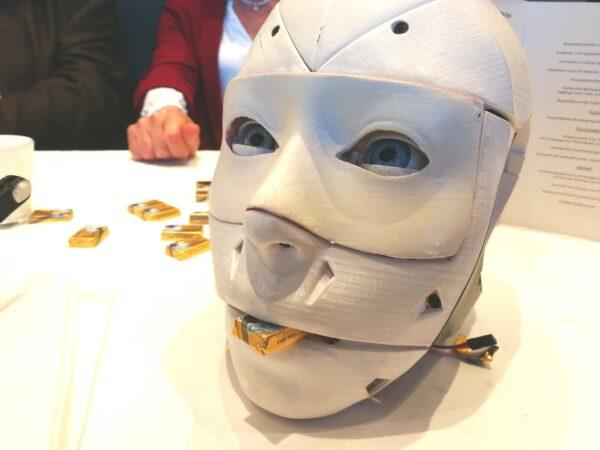Zukunft des Kunststoff - Die Kunststoffinnovation FabLab Humanoider Roboter