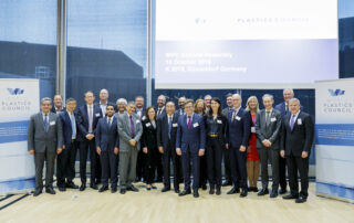 PlasticsEurope World Plastics Council General Assembly K Tradeshow 2019 Plastic Packaging