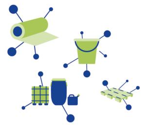Mikronetzwerke Produktgruppen Rezyklateinsatz