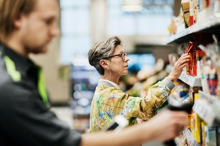 Kunststoff Verpackung Lebensmittel Einzelhandel Produktschutz Verbraucher Information