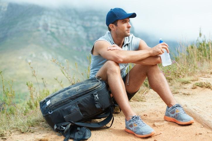 Plastik Flasche aus PET Komfort in Sport und Freizeit