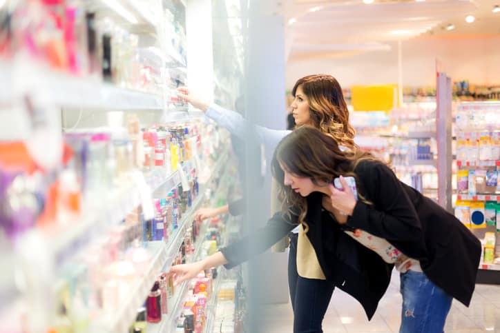 Plastik Verpackung Produktschutz von Kosmetikartikeln