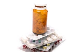 Plastik Verpackung bietet Produktschutz bei Medikamenten und Medizin