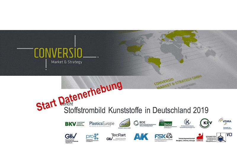Datenerhebung Stoffstrombild Kunststoffe In Deutschland 2019