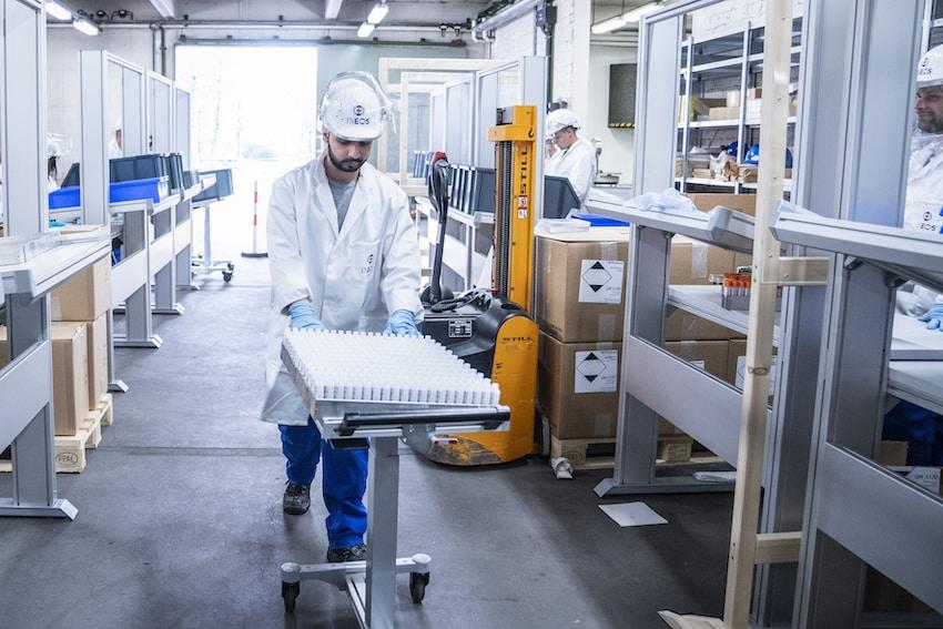 INEOS Sterile Sanitiser Herne + Moers ©markusfeger.com