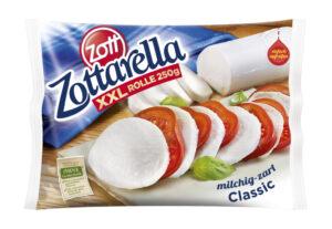 Zottarella Mehrschichtverpackung