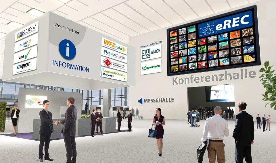 eREC Digitalmesse zu Kreislaufwirtschaft