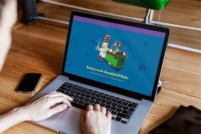 Beitragsbild Kuno Webseite Ansicht Laptop Min