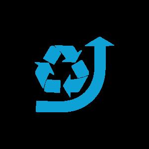 IK Icons Recycling - Rezyklateinsatz fördern