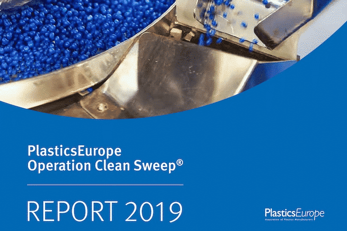 PlasticsEurope Cover Operation Clean Sweep Report Beitrag