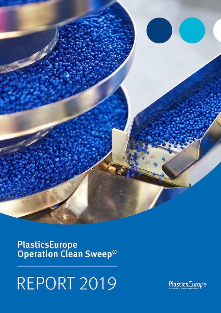 Presseinformation PlasticsEurope Deutschland Cover Operation Clean Sweep Report Rezyklat Kunststoff Plastik PET-Flasche