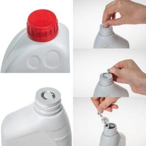 Ring Peel Liner Opening Kunststoffverschluss bietet Produktschutz