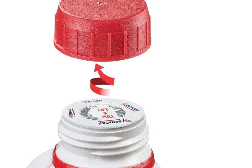 Ring Peel Liner Kunststoffverschluss