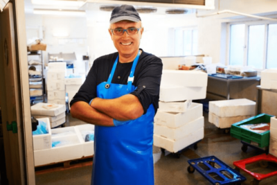 Fischer Mit EPS Kisten Plastikverpackungen Einwegkunststoff-verbot