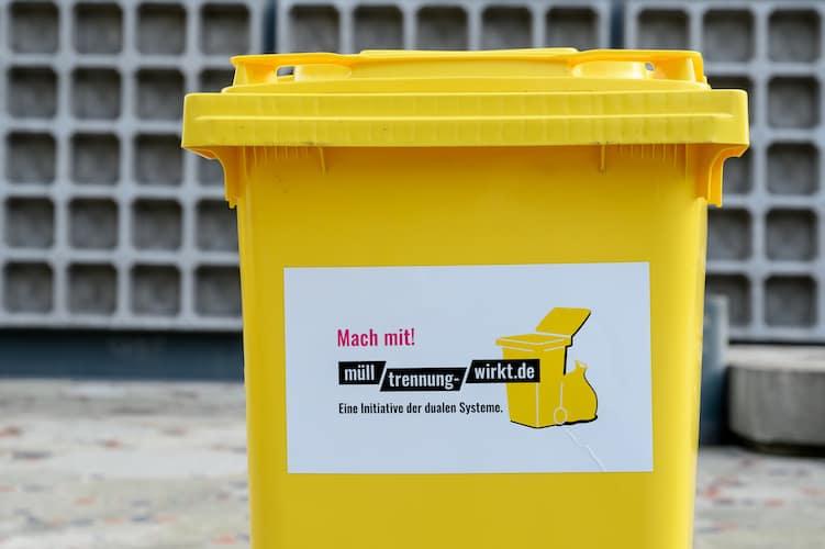 Muelltrennung Wirkt Recycling Kreislaufwirtschaft Woche der Abfallvermeidung