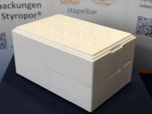 OHLRO Buffet Box Aus Airpop bietet Lebensmittelschutz