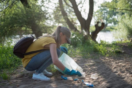 Plastikmuell Sammeln Trennen Entsorgen Recycling