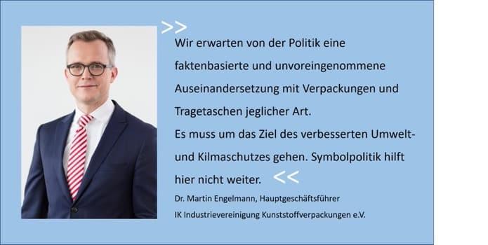 IK Engelmann zum Plastiktütenverbot