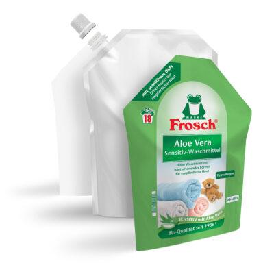Frosch Waschmittel verpackung EcoDesign Packthefuture