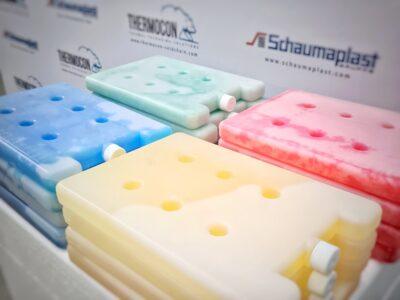PCM-Akkus von Schaumaplast (Phase Change Material)